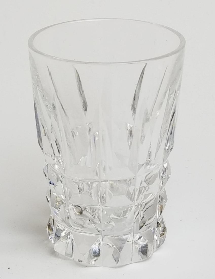 19th C. Bronze and Cut Glass Tantalus Set - 9