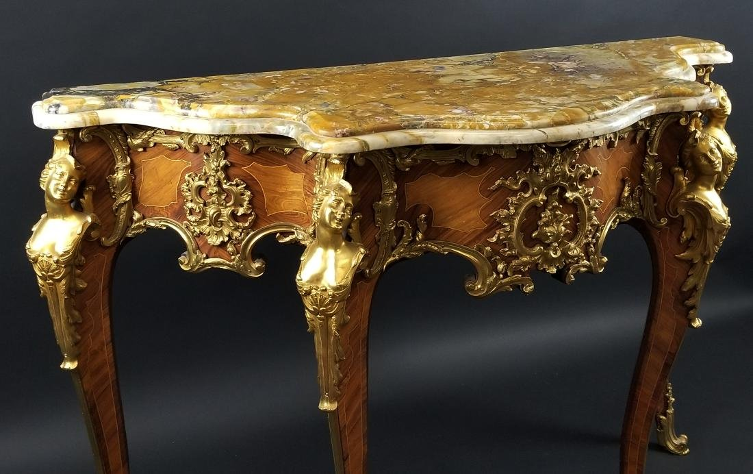 Magnificent Pair of F. Linke Louis XV Style Gilt Bronze - 3