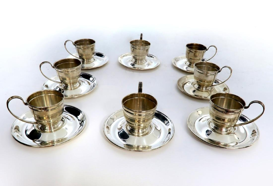 Very Fine Set 8 Vintage Gorham Sterling Silver