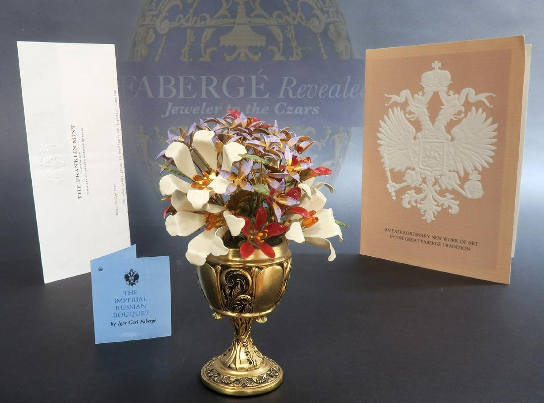 """Fabergé """"Imperial Bouquet"""" signed by Igor Carl Faberge"""