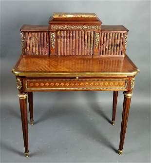 19th C. French Louis XVI Style Writing Desk
