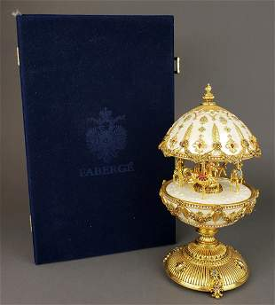 """Faberge """" The Imperial Carousel Egg"""""""