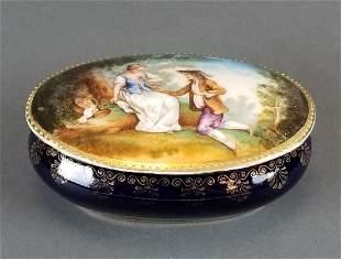 Royal Vienna Porcelain Covered Box