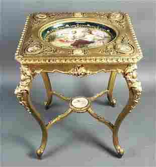 19th C. Royal Vienna Porcelain Inset Porcelain Plaques