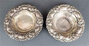 Pair of Sterling Silver Dishes