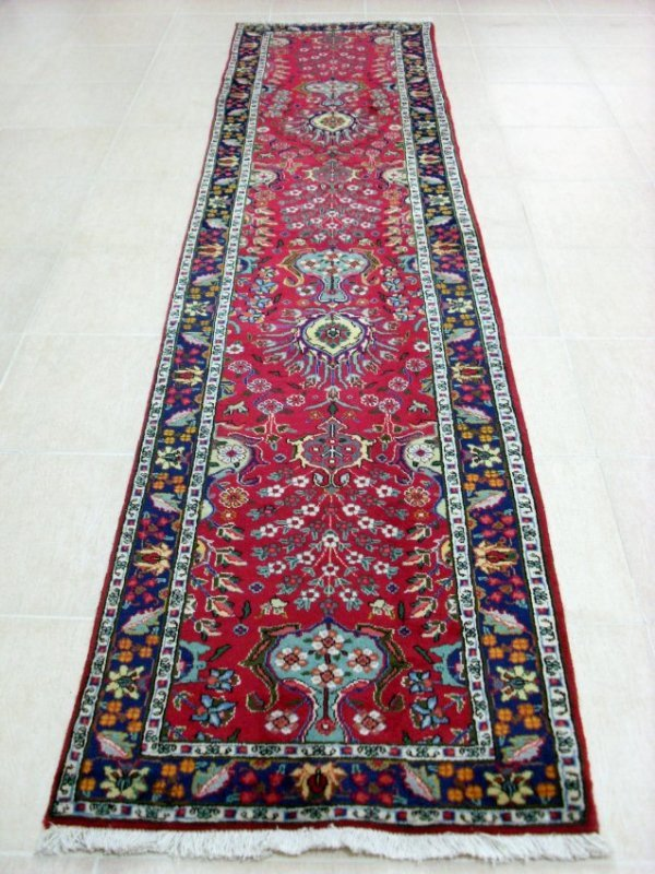 Persian Tabriz Runner Rug