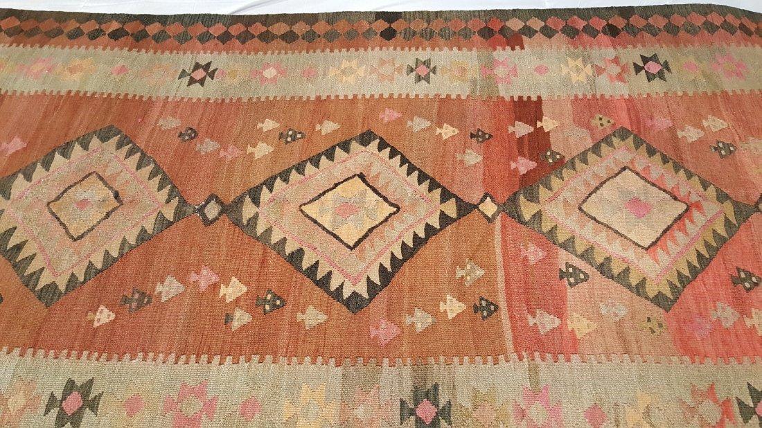 Persian Qashqai kilim rug - 2