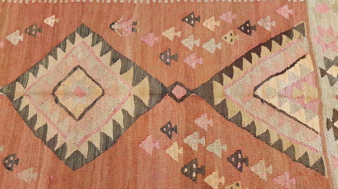Persian Qashqai kilim rug - 5