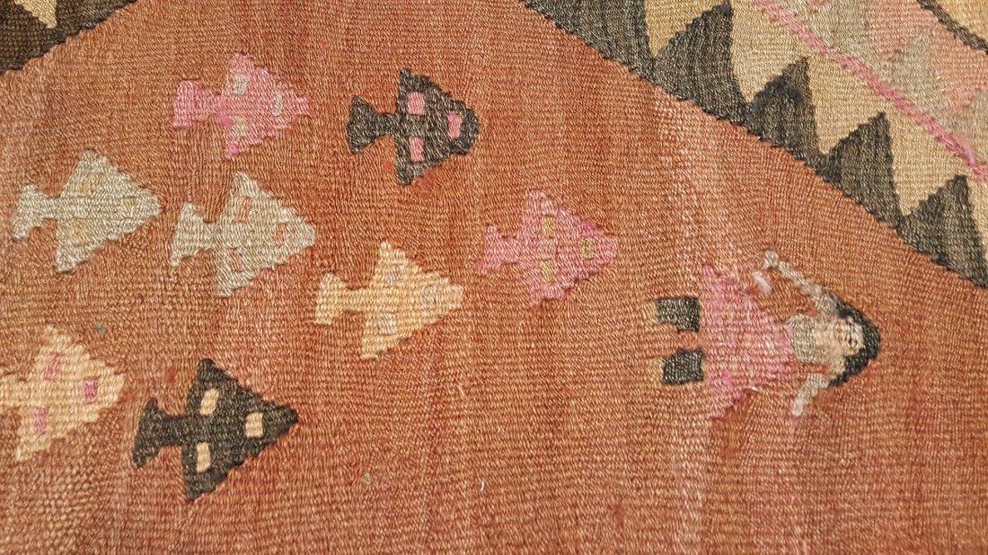 Persian Qashqai kilim rug - 7