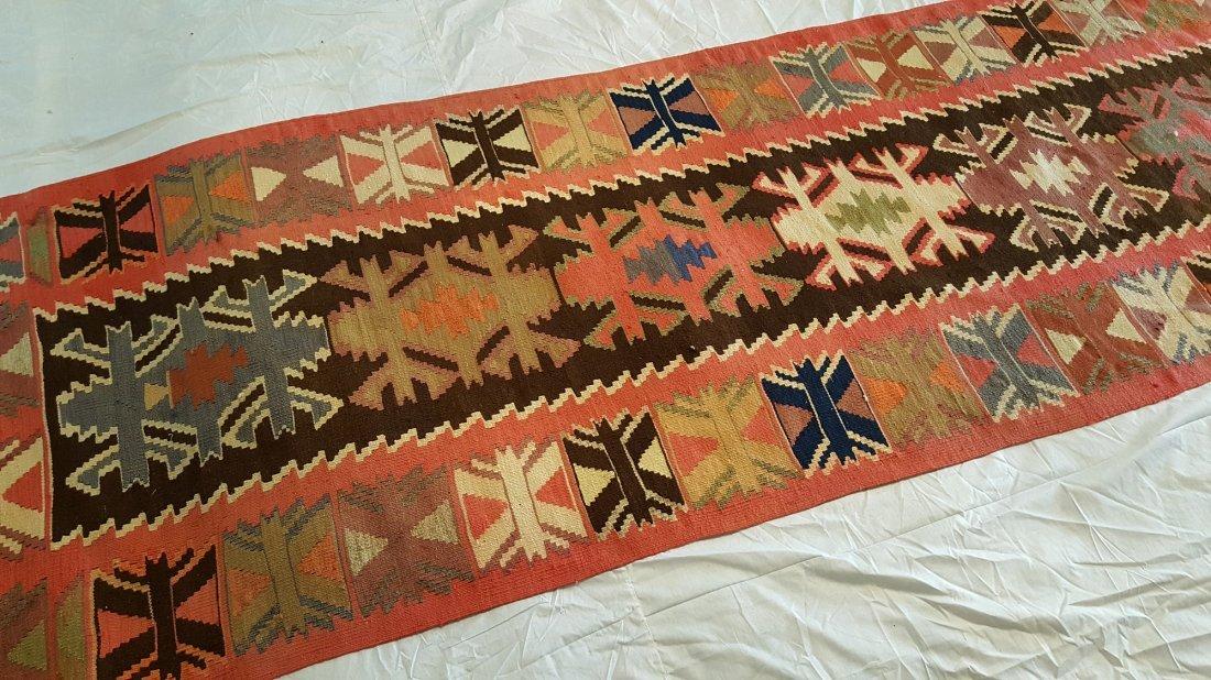 Avar runner kilim rug - 3