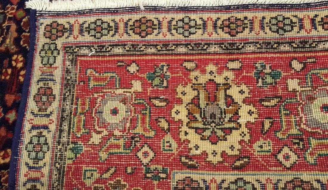 Persian Vintage Tabriz  rug carpet - 5