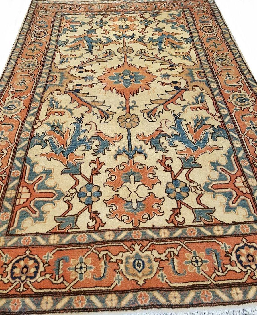 Persian Heriz  Rug Tabriz knot