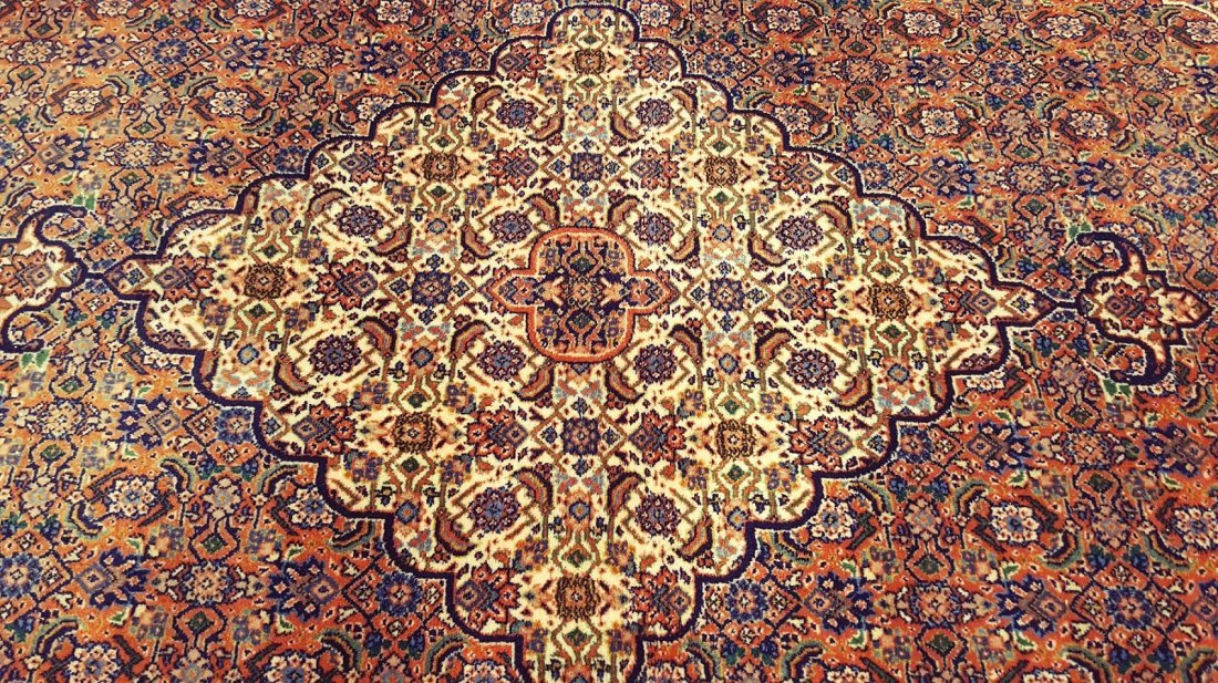 Fine Tabriz Rug Carpet - 4