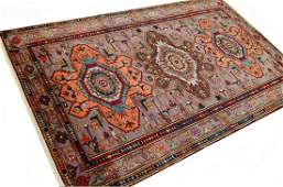 Fine Persian Zanjan Rug Carpet