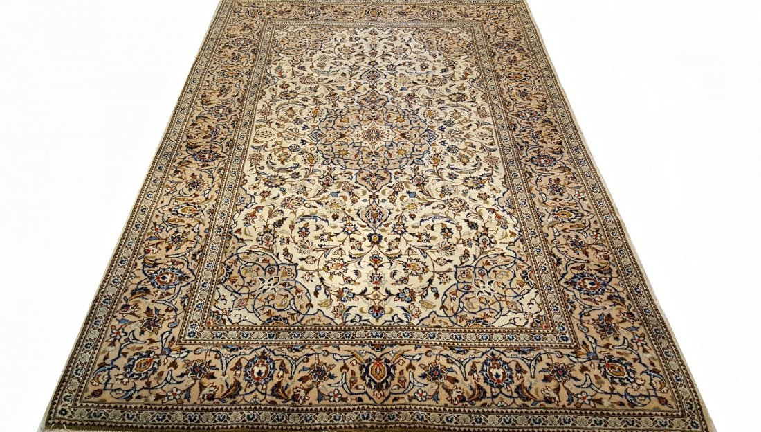 Fine Persian Kashan Rug