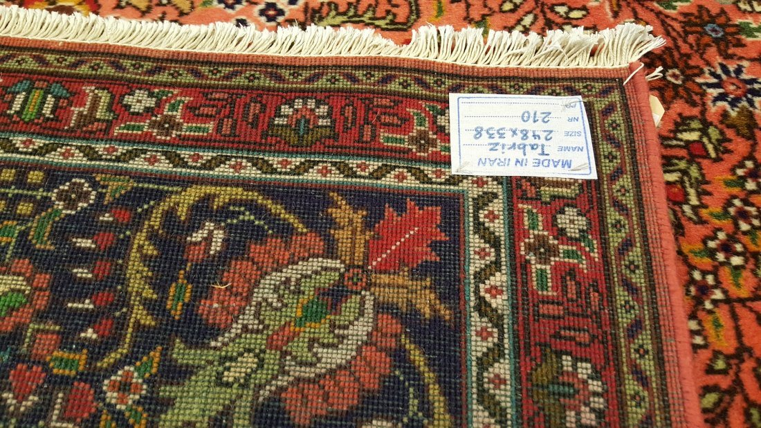 Fine Persian Tabriz Rug Carpet - 6