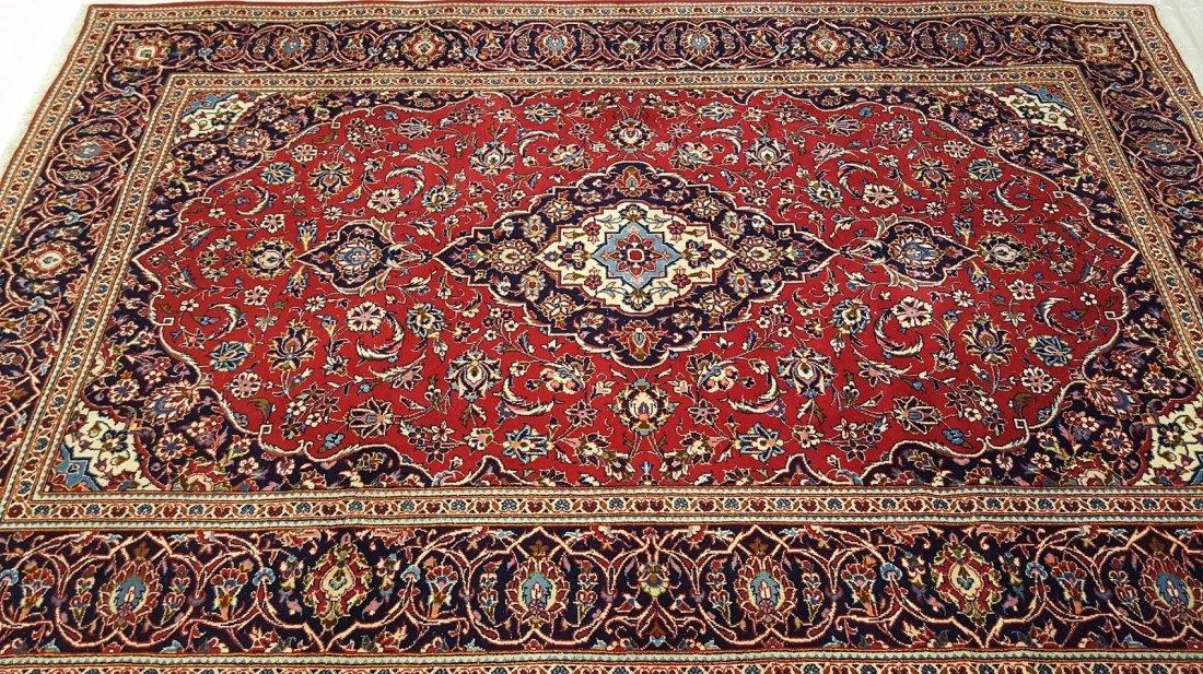 Fine Persian KASHAN Rug Carpet - 3