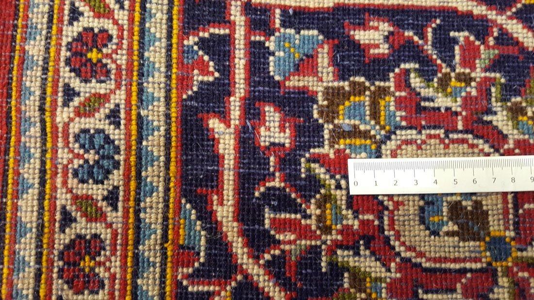 Fine Persian KASHAN Rug Carpet - 8