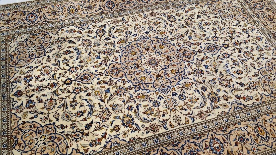 Fine Persian KASHAN Rug Carpet - 4