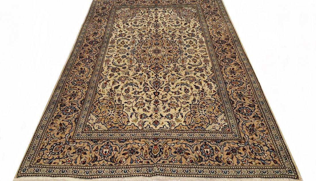 Fine Persian KASHAN Rug Carpet - 5