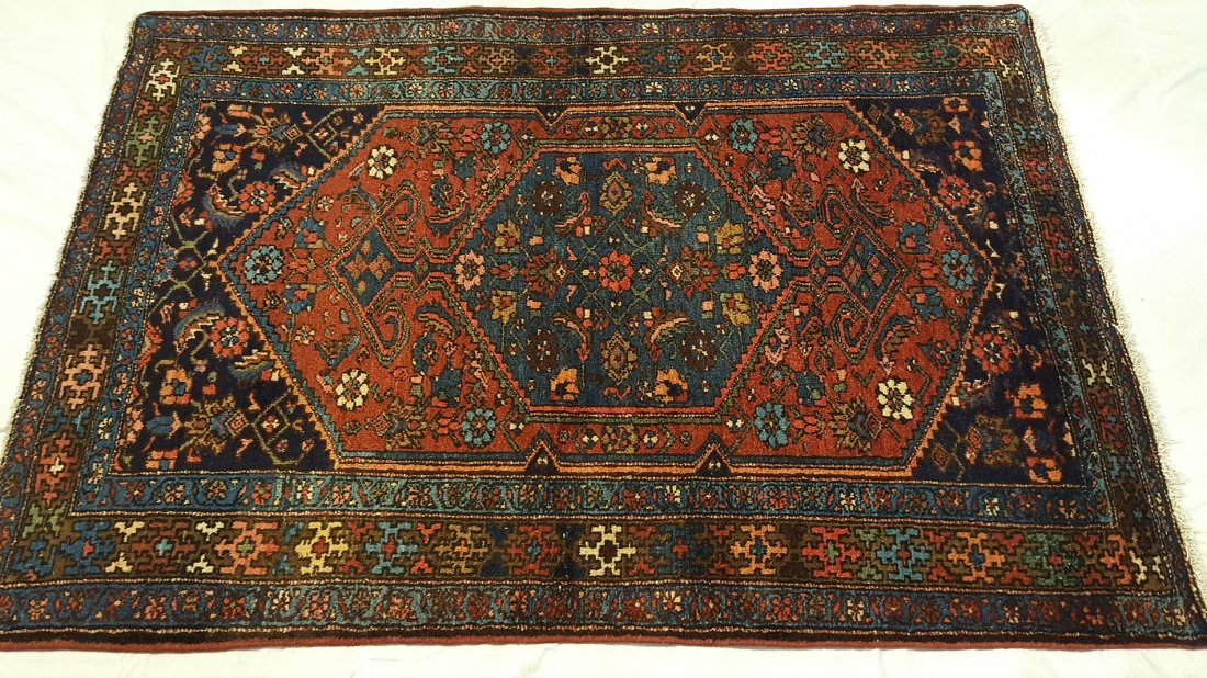 Persian HAMADAN Rug Carpet - 2