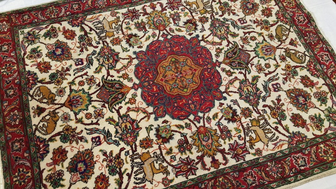Persian TABRIZ Rug Carpet - 4