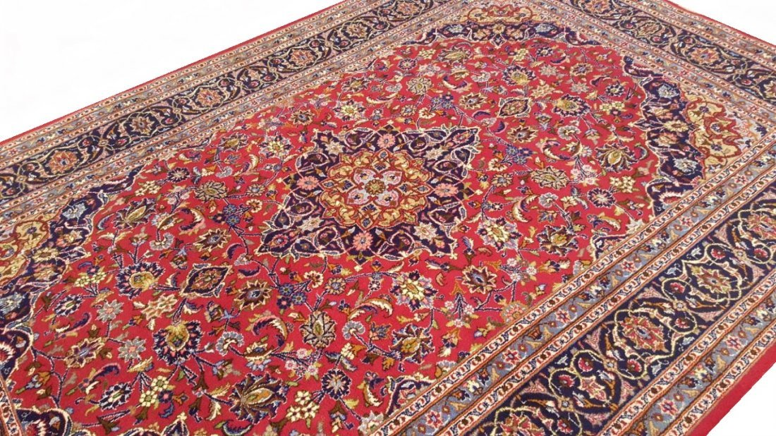 Persian KASHMAR Rug Carpet - 2