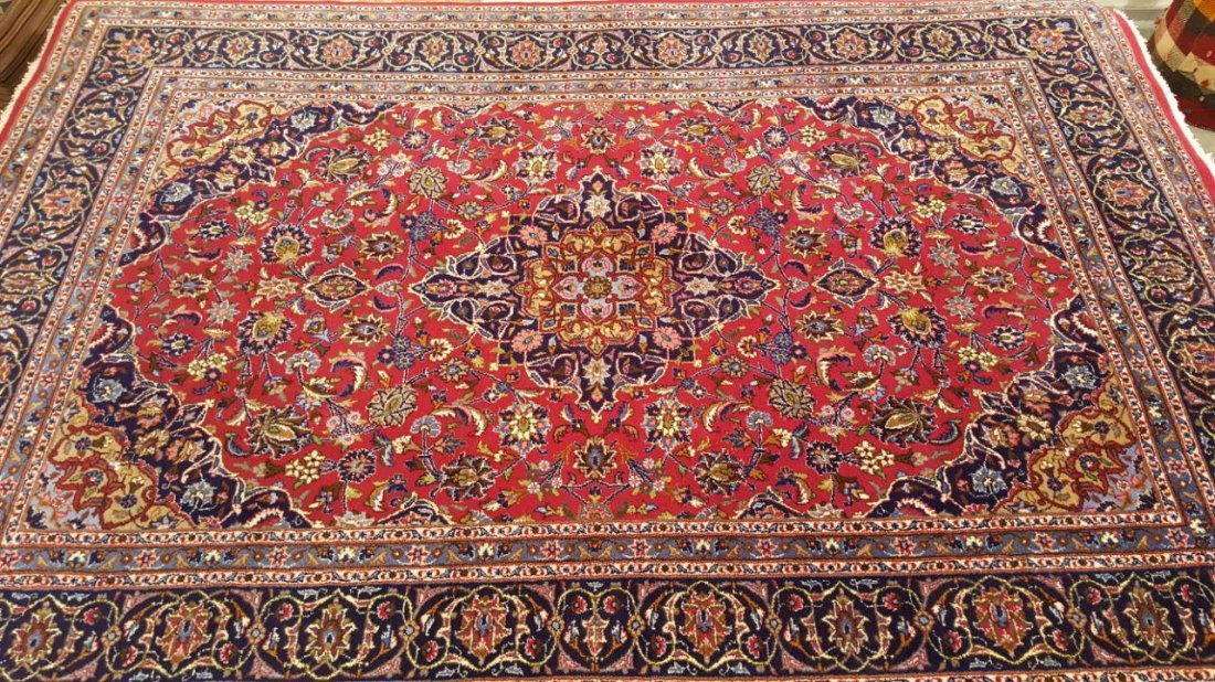 Persian KASHMAR Rug Carpet - 4