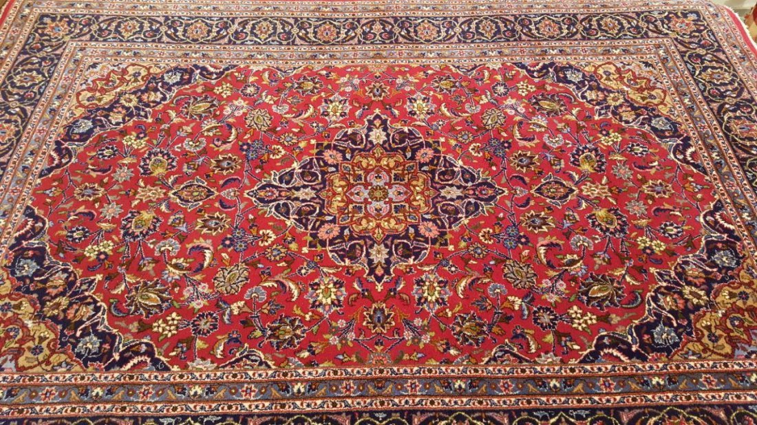 Persian KASHMAR Rug Carpet - 5