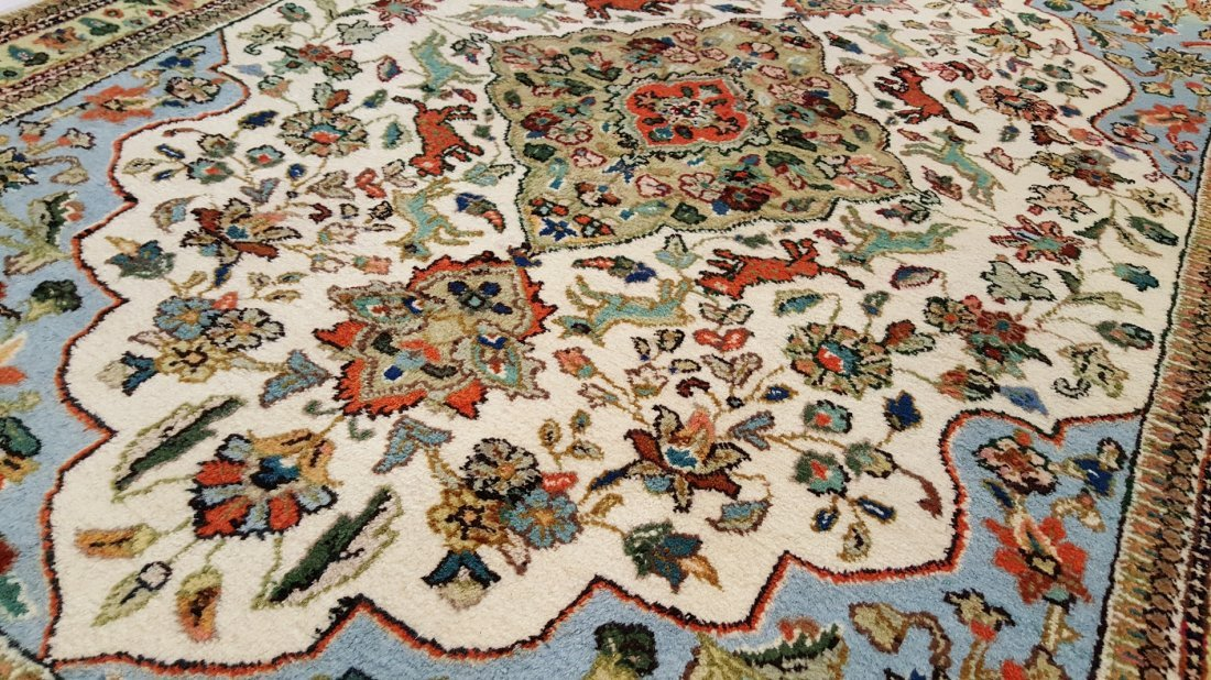 Persian SAROUK Rug Carpet - 4