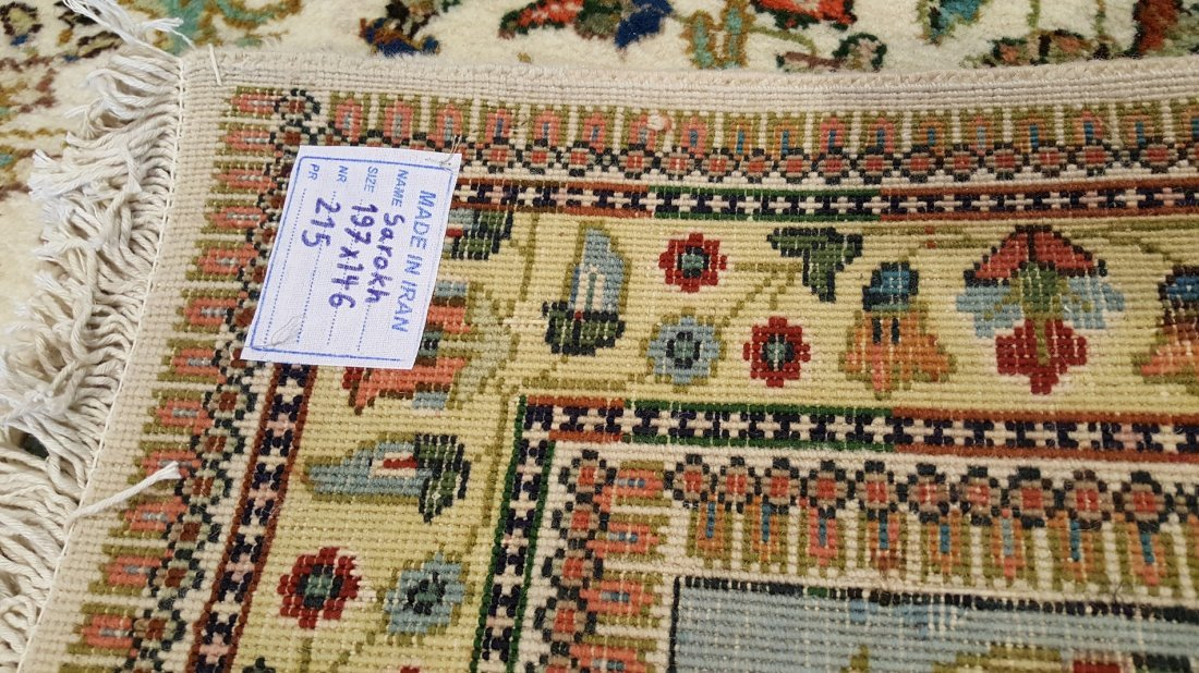 Persian SAROUK Rug Carpet - 5