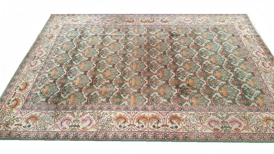 Vintage Arad Romania Rug Carpet - 2