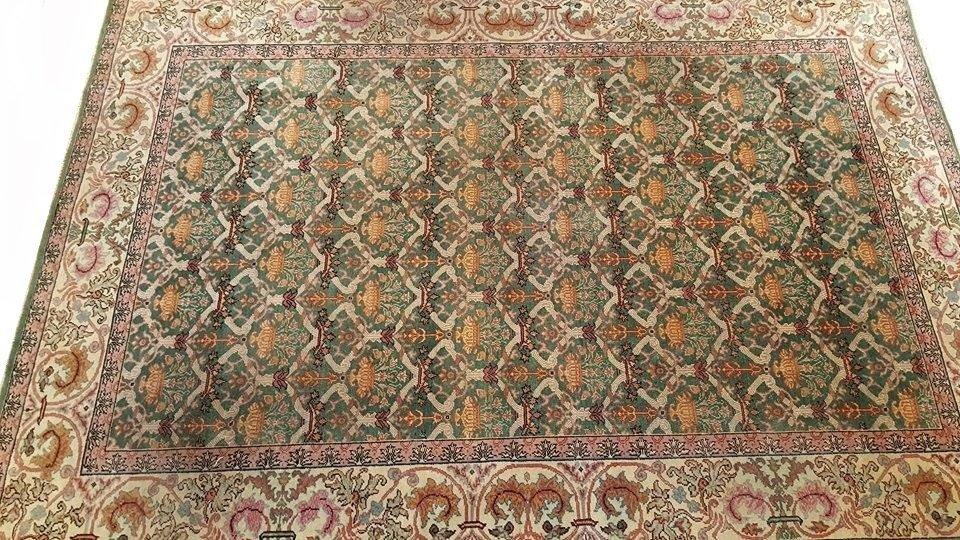 Vintage Arad Romania Rug Carpet - 6