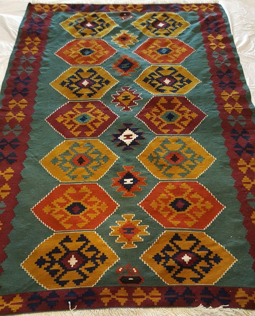 Turkish Kilim Rug Carpet - 2