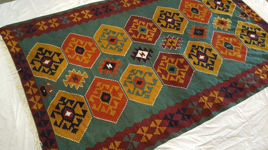 Turkish Kilim Rug Carpet - 3