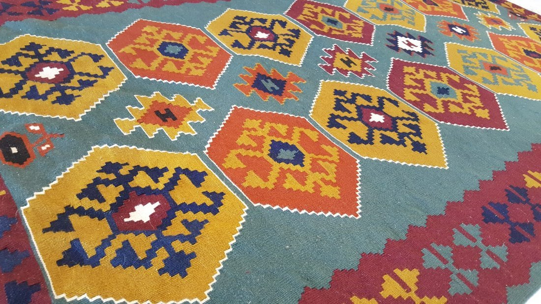 Turkish Kilim Rug Carpet - 5