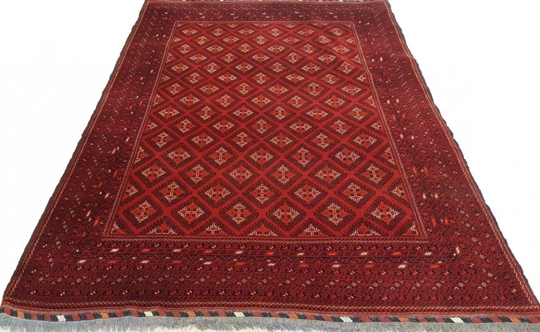 Fine Afghan Kunduz Rug Carpet