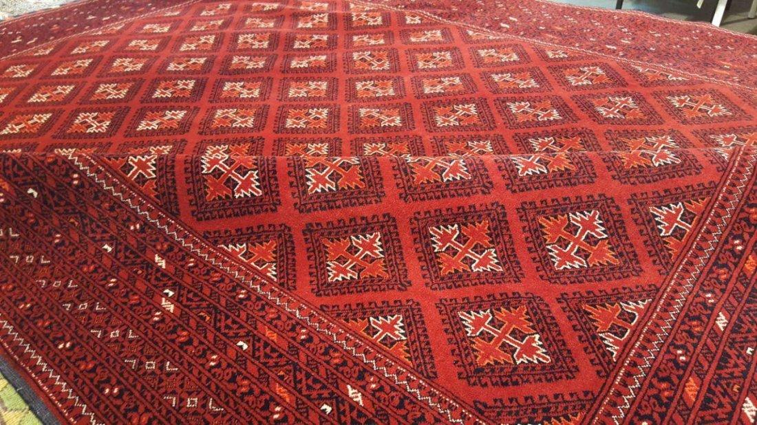 Fine Afghan Kunduz Rug Carpet - 2