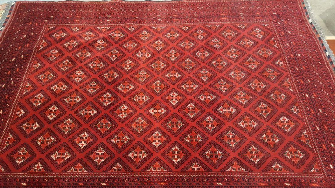 Fine Afghan Kunduz Rug Carpet - 3