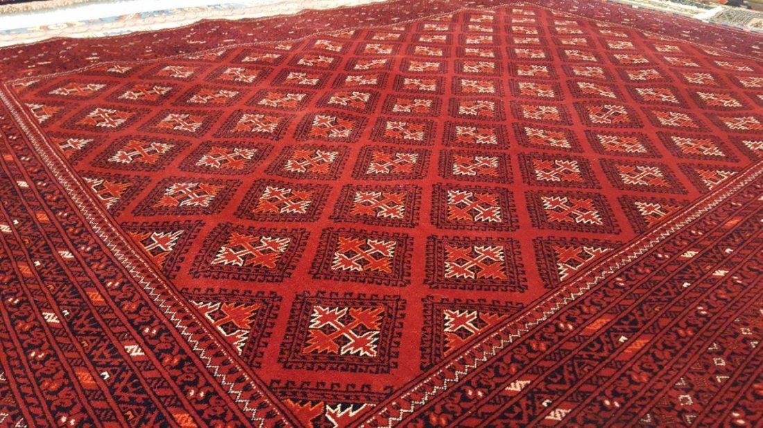 Fine Afghan Kunduz Rug Carpet - 4
