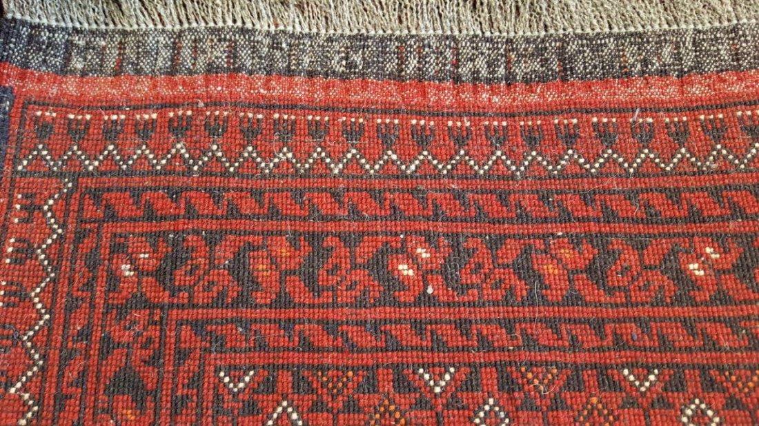 Fine Afghan Kunduz Rug Carpet - 5