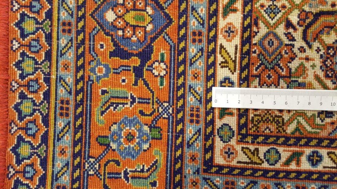 Fine TABRIZ Rug Carpet (45 Raj) - 10