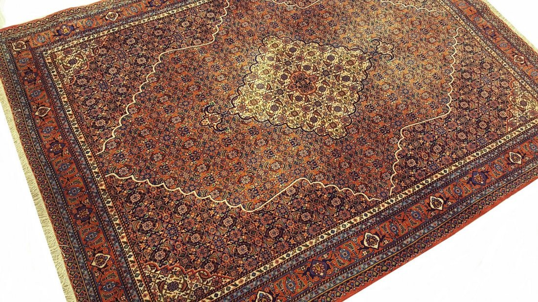 Fine TABRIZ Rug Carpet (45 Raj) - 5