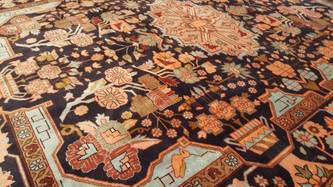 Fine Persian TABRIZ Rug Carpet - 4