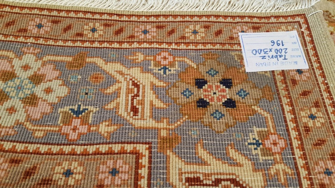Fine Persian TABRIZ Rug Carpet - 8
