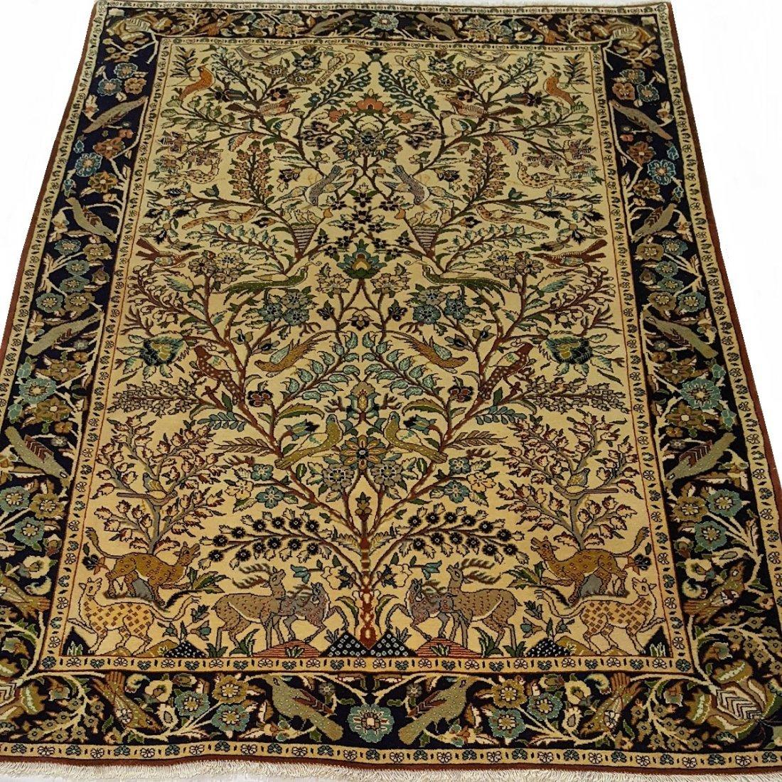 Fine Persian Isfahan Rug Carpet