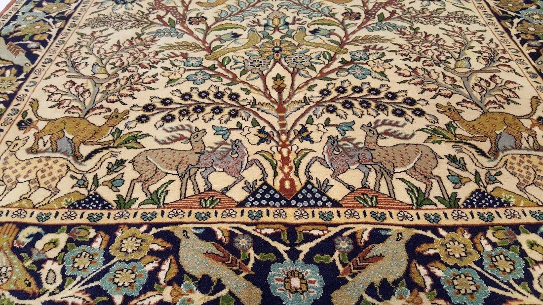 Fine Persian Isfahan Rug Carpet - 4