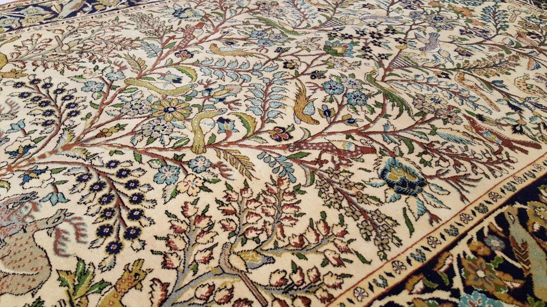 Fine Persian Isfahan Rug Carpet - 5