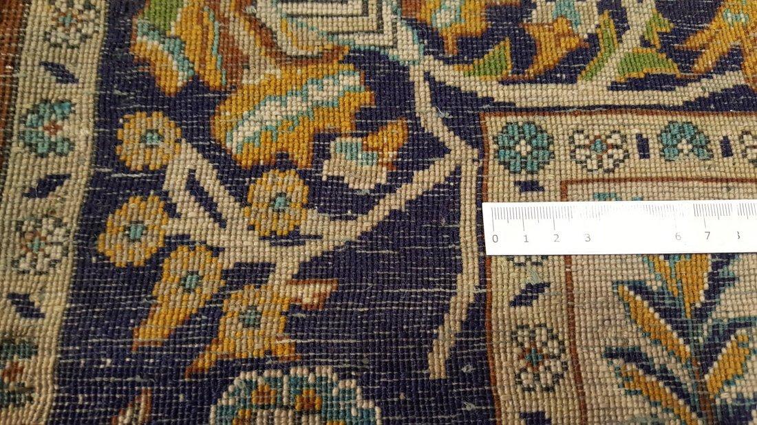 Fine Persian Isfahan Rug Carpet - 7