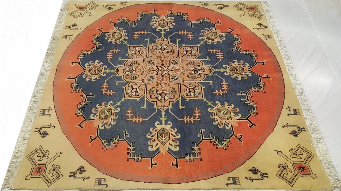 Fine Persian Ardabil Rug Carpet - 2